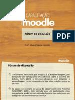 Capacitacao Moodle Forum