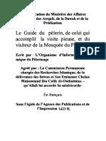 Le Guide du pèlerin, de celui qui accomplit la visite pieuse, et du visiteur de la Mosquée du Prophète.pdf