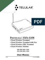 Phonecell Sx5e Gsm