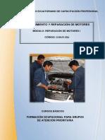 Reparación del motor 2