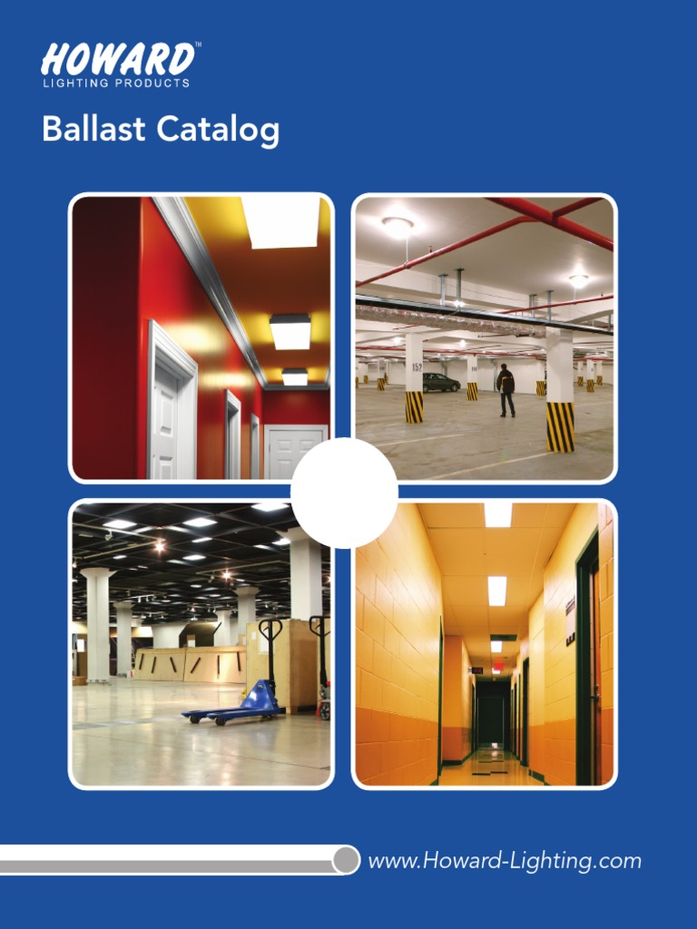 Howard EP3//32IS//MV//MC//HE - Instant Start F32T8-120//277 Volt 0.88 Ballast Factor Lamp Fluorescent Ballast 3