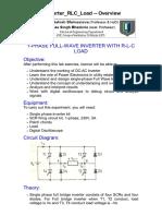 1Ph FW Inverter RLC Load