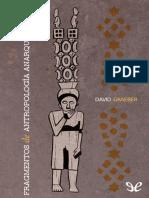 Fragmentos de Antropologia Anarquista - David Graeber