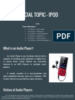 Special Topic - iPod - 1