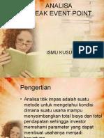 8. Analisa BEP