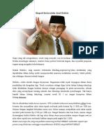 Biografi Bacharuddin Jusuf Habibie