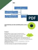 marketingplan opzet p6