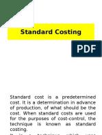 Standard Costing