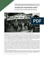 Diani, M- El Concepto de Movimiento Social
