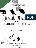 Auguste Cornu Karl Marx Et La Revolution de 1848 49f75b2b171f