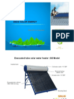 GS Model Solar Water Heater Catalogue