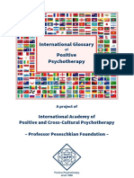 Chinese Terms for Positive Psychotherapy