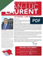 Journal du député n°6, 2016