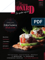 Maison Léonard - Catalogue 2015-2016