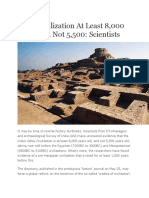 Indus Civilization at Least 8
