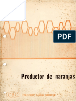 Colecciones Básicas Cinterfor (CBC) - Productor de Naranjas