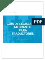 Guía Sobre Legislación Mercantil