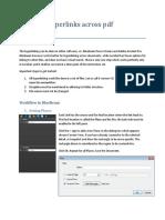 Creating Hyperlinks Across PDF Documents