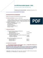 2010 Guidelines JPN Pancreatitis Aguda