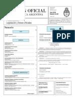 Boletín Oficial de la República Argentina, Número 33.397. 10 de junio de 2016