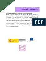 Planes de Igualdad en Empresas Del Sector Industrial