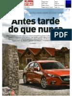"""NOVO RENAULT MÉGANE 1.5 dCi 110 FRENTE AO MAZDA 3 1.5 SKYACTIV-D NA """"AUTO FOCO"""""""