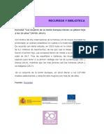Eurostat. Día Internacional de La Familia. 2015