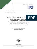 Enhanced Aircraft Platform Availability Through Advanced Maintenance Concepts and Technologies