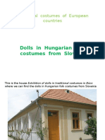 Traditional  costumes  of  European countries