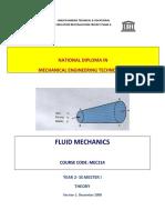 Mec 214 Fluid Mechanics Theory x