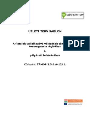Üzleti tervezés | Digitális Tankönyvtár