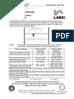 LABC Typical Steel Beam Sizes