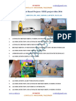 TOP 75 Alcohol Based Projects IEEE Project Titles 2016