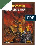 livre armée - Demons du Chaos V8