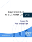 133336351 Design Considerations for an LLC Resonant Converter PPT