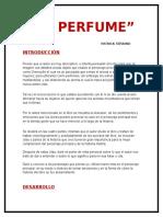 El Perfume Ensayo