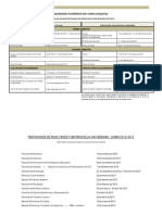 Calendario Academico 2012-2013