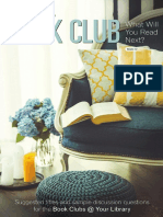 Penguin Random House Book Club Brochure Vol. 12