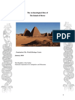 The Archaeological Sites of Meroe