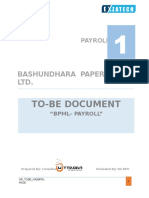 To-be Format Payroll