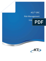 ACL GRC Risk Manager - Usage Guide V1.1