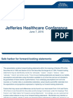 Boston Scientific Jefferies 2016 HC Conference