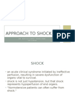 Approach to Shock Dr Azila