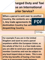 Parcel to Canada