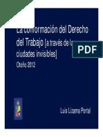 UCH - La Conformacion Del Derecho Del Trabajo -2012