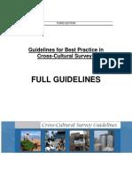 Full Guidelines