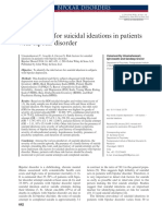 2014 Risk Factors for Suicidal Ideations in Patients With Bipolar Disorder