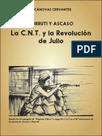 """Ejemplar de """"Páginas libres"""" reeditado por CGT en el 80ª aniversario de la Revolución Libertaria de 1936"""