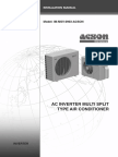 Ac Intgerver Multi Split Installation Manual