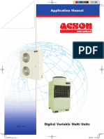 Acson Digital Variable Multi Units Application Manual